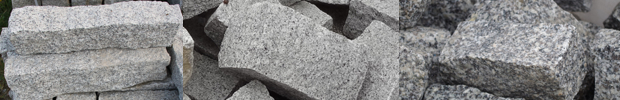 palisady granitowe